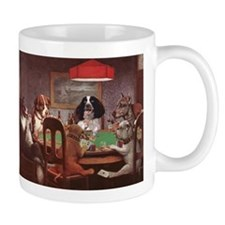Poker playing Dogs Coffee Mug