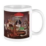 Poker playing Dogs Small Mug