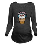 cute little girl snow cone.png Long Sleeve Materni