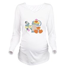 baby ducks and watering can.png Long Sleeve Matern