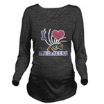 i heart sprinklers.png Long Sleeve Maternity T-Shi