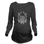 tribal spider design.png Long Sleeve Maternity T-S