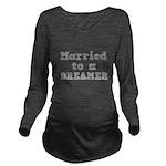 DREAMER.png Long Sleeve Maternity T-Shirt