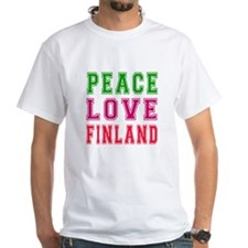 Peace Love Finland Shirt