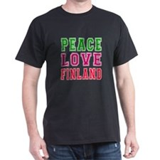 Peace Love Finland T-Shirt