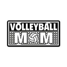 Volleyball Mom License Plate Aluminum License Plat