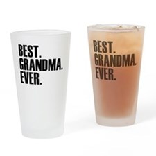 Best Grandma Ever Drinking Glass