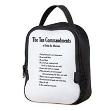 Solon's Ten Commandments Neoprene Lunch Bag