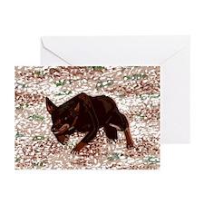 Australian Kelpie Greeting Cards