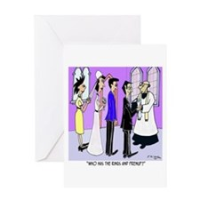 Who Has the Prenup? Greeting Card