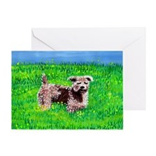 Glen Of Imaal Terrier Dog Greeting Cards