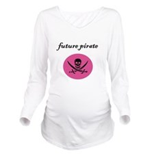 future pirate.JPG Long Sleeve Maternity T-Shirt
