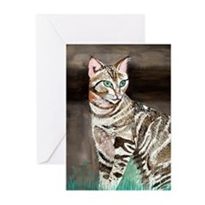 Sokoke Forest Cat Greeting Cards