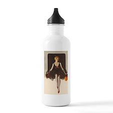 1920's Halloween Flapp Water Bottle