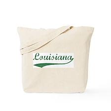 Vintage Louisiana (Green) Tote Bag