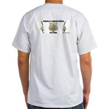 Purple Loosestrife Patrol T-Shirt - Grey