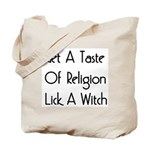Lick A Witch Tote Bag
