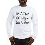 Lick A Witch Long Sleeve T-Shirt