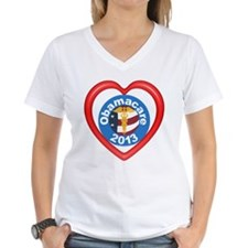 Obamacare Heart Women's Good V-Neck T-Shirt