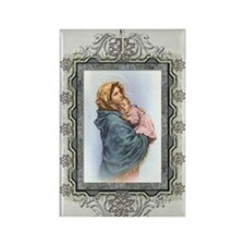Madonna of the Streets Rectangle Magnet