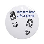 Foot Fetish Ornament (Round)