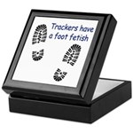 Foot Fetish Keepsake Box