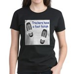Foot Fetish Women's Dark T-Shirt