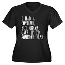 Halloween Costume Plus Size T-Shirt