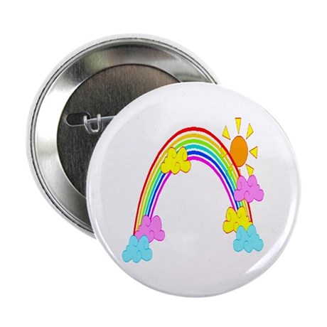 "Rainbow 2.25"" Button (10 pack)"
