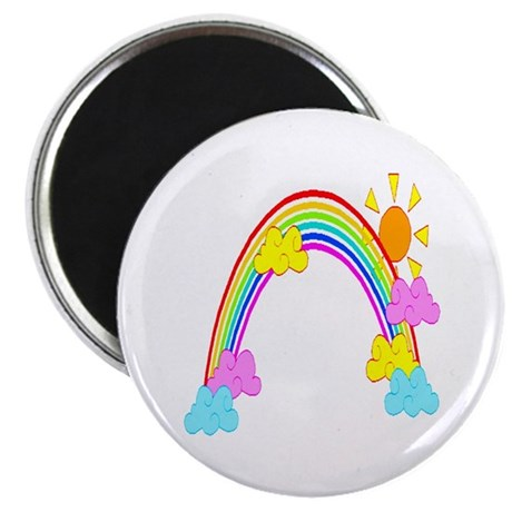 "Rainbow 2.25"" Magnet (10 pack)"