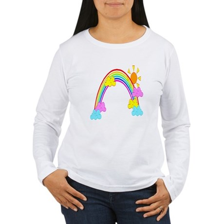 Rainbow Women's Long Sleeve T-Shirt