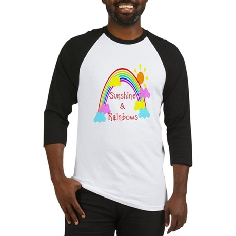 Sunshine Rainbows Baseball Jersey