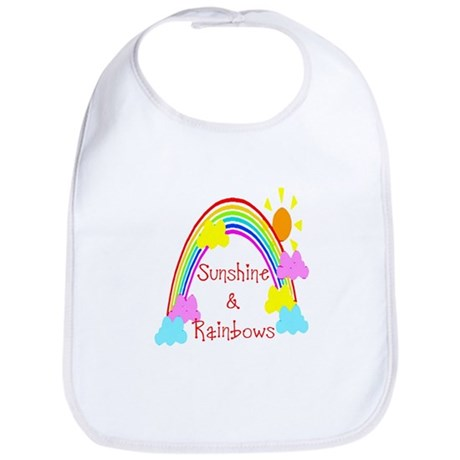 Sunshine Rainbows Bib