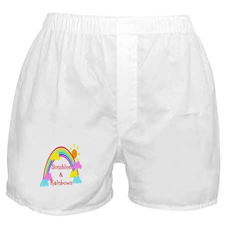 Sunshine Rainbows Boxer Shorts