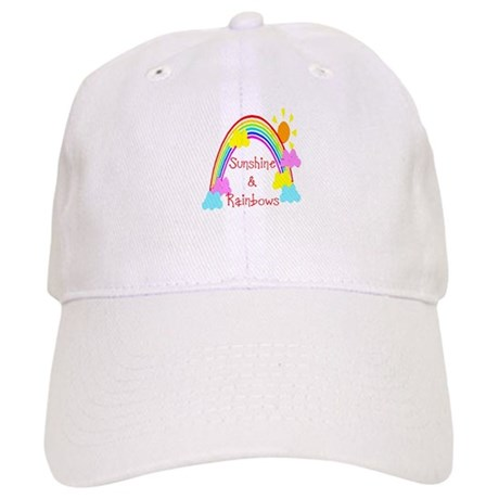 Sunshine Rainbows Cap