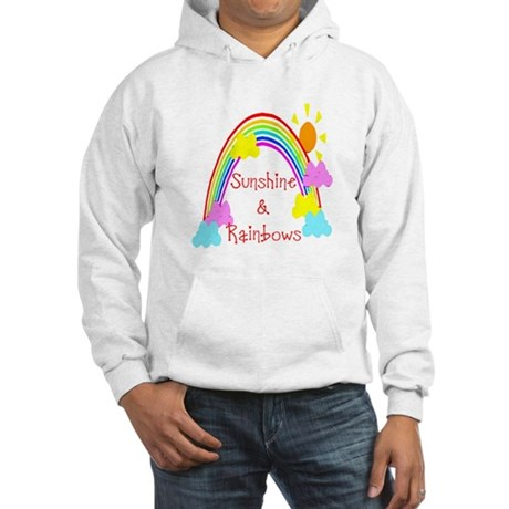 Sunshine Rainbows Hooded Sweatshirt