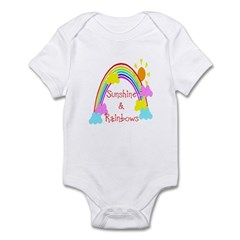 Sunshine Rainbows Infant Bodysuit