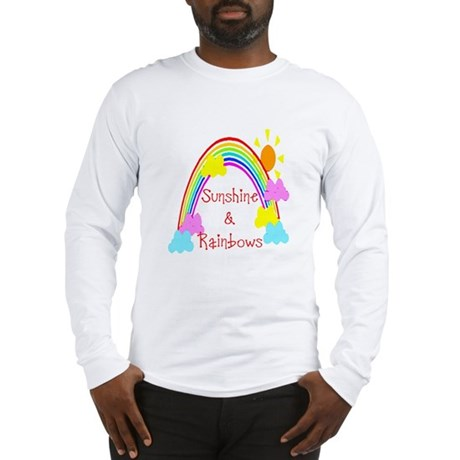 Sunshine Rainbows Long Sleeve T-Shirt