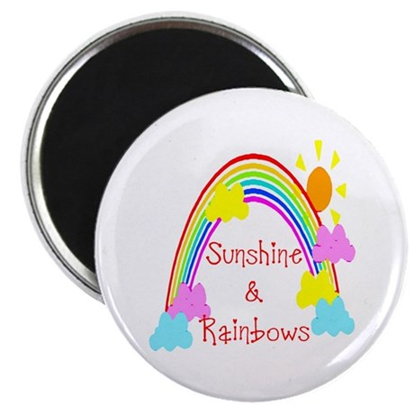 Sunshine Rainbows Magnet