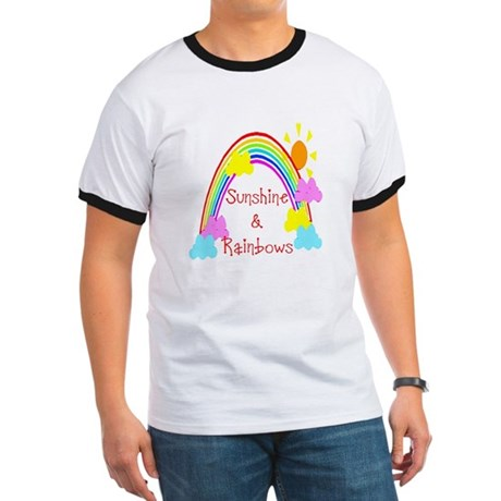 Sunshine Rainbows Ringer T
