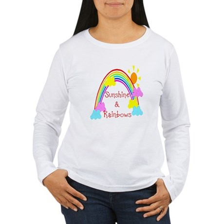 Sunshine Rainbows Women's Long Sleeve T-Shirt