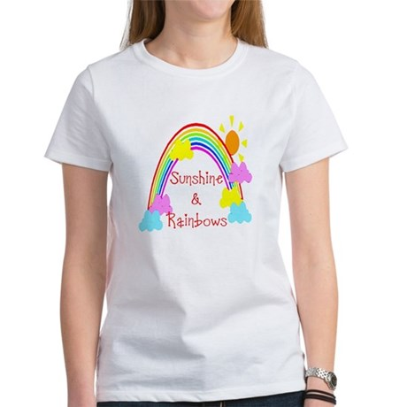 Sunshine Rainbows Women's T-Shirt