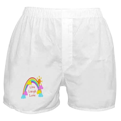 Rainbow Love Boxer Shorts