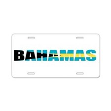 Bahamas Aluminum License Plate