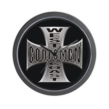 West Coast Corpsmen Wall Clock