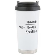 Ceramic Bayesian Travel Mug