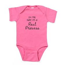 Real Princess Baby Bodysuit
