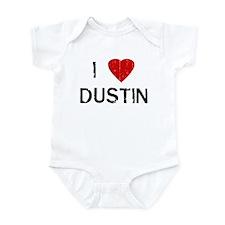 I Heart DUSTIN (Vintage) Infant Bodysuit