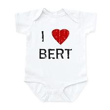 I Heart BERT (Vintage) Infant Bodysuit