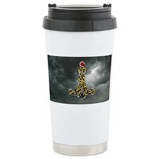 Thor's Hammer Ceramic Travel Mug